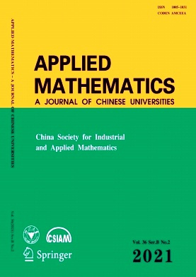 Applied Mathematics:A Journal of Chinese Universities杂志